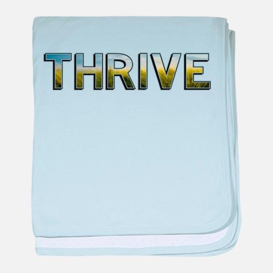 Thrive baby blanket