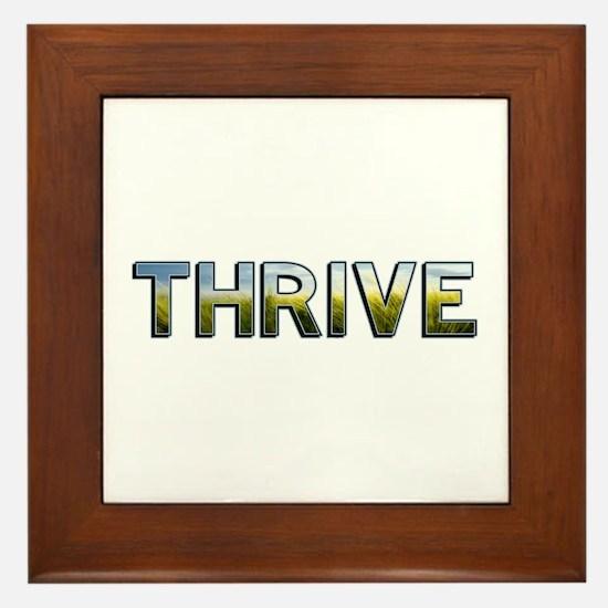 Thrive Framed Tile