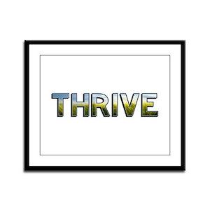 Thrive Framed Panel Print