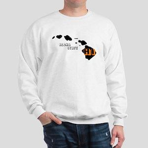 HI ALOHA STATE Sweatshirt