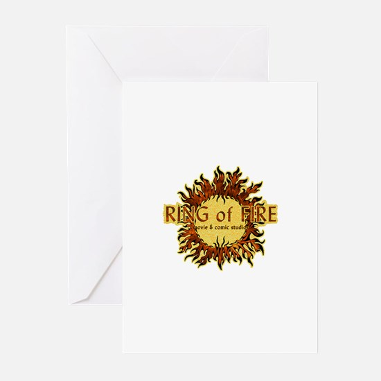 Sun Fire logo Greeting Cards (Pk of 10)