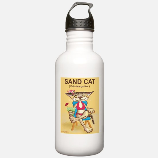 Sand Cat (Felis Margaritas) Sports Water Bottle