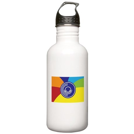Occupy Wall Street Flag Stainless Water Bottle 1.0
