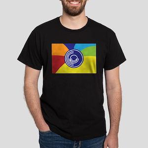 Occupy Wall Street Flag Dark T-Shirt