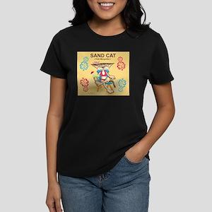 Sand Cat (Felis Margaritas) Women's Dark T-Shirt