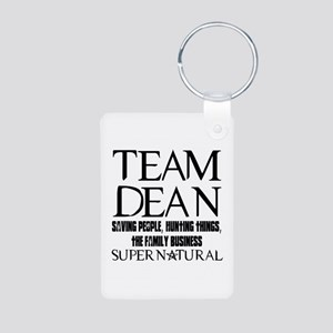 Team Dean Supernatural Winchester Aluminum Photo K