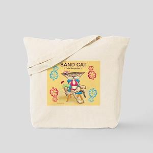 Sand Cat (Felis Margaritas) Tote Bag