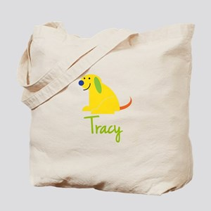 Tracy Loves Puppies Tote Bag