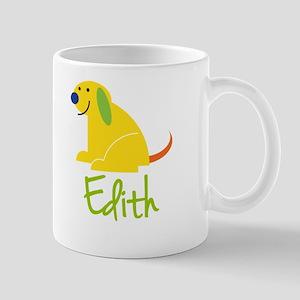 Edith Loves Puppies Mug