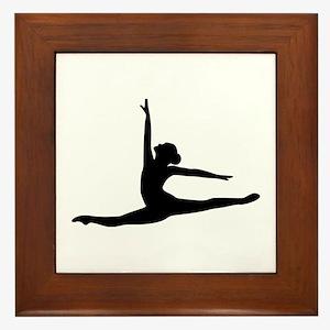 Ballet Dancer Ballerina Framed Tile
