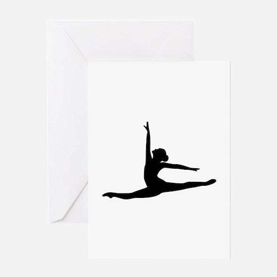 Ballet Dancer Ballerina Greeting Card