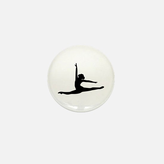 Ballet Dancer Ballerina Mini Button
