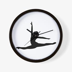 Ballet Dancer Ballerina Wall Clock