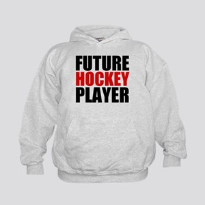 Future Hockey Player Kids Hoodie