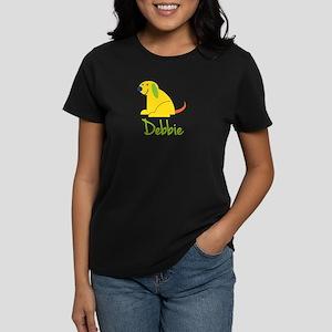 Debbie Loves Puppies Women's Dark T-Shirt