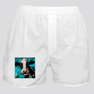 Cow Painting Boxer Shorts