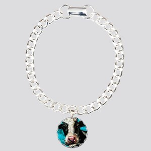 Cow Painting Bracelet