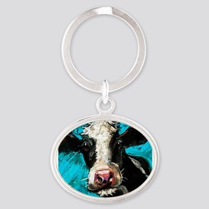 Cow Painting Keychains