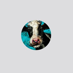 Cow Painting Mini Button