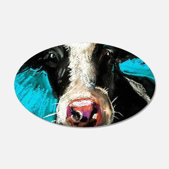 Cow Painting Wall Decal