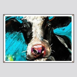 Cow Painting Banner
