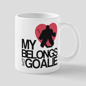 Belongs to a Goalie Mug