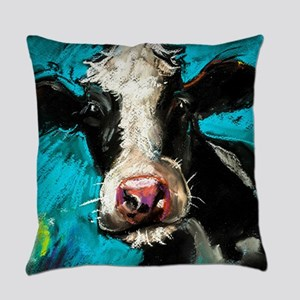 Cow Painting Everyday Pillow
