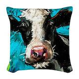Dairy farm Woven Pillows