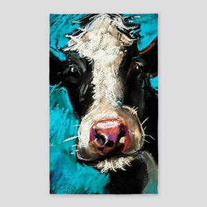Cow Painting Area Rug