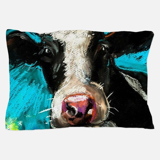 Cow Painting Pillow Case
