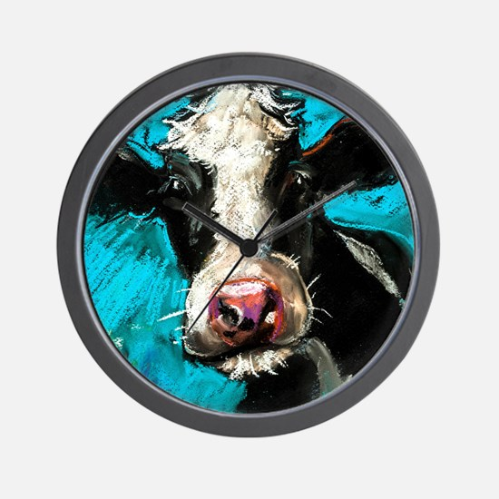 Cow Painting Wall Clock