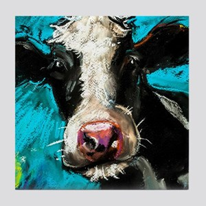 Cow Painting Tile Coaster