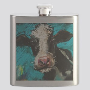 Cow Painting Flask