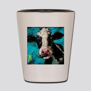 Cow Painting Shot Glass