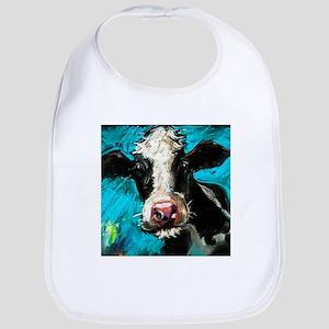 Cow Painting Baby Bib
