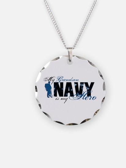 Grandson Hero3 - Navy Necklace