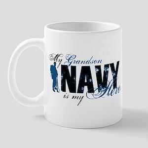 Grandson Hero3 - Navy Mug