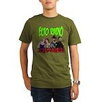 Zombie Hosts Organic Men's T-Shirt (dark)