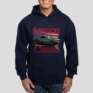 67 Mustang Fastback Hoodie (dark)