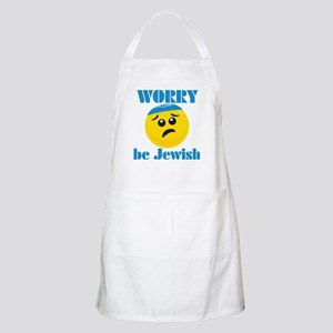 WORRY be Jewish BBQ Apron
