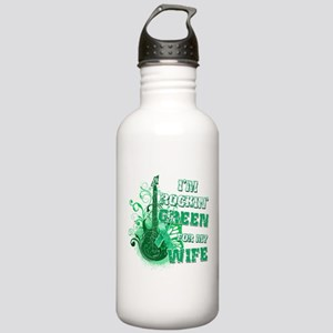 I'm Rockin Green for my Wife Stainless Water Bottl