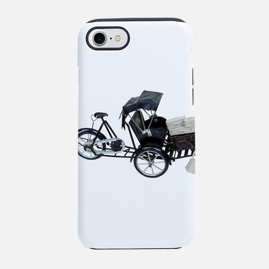 RickshawLuggage030709 copy.png iPhone 7 Tough Case