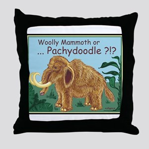 Pachydoodle - Throw Pillow