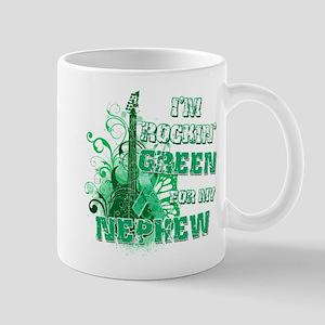 I'm Rockin Green for my Nephe Mug