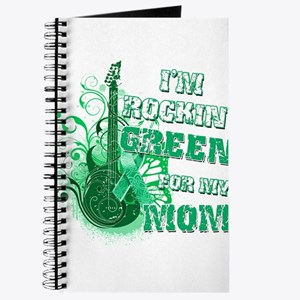 I'm Rockin Green for my Mom Journal