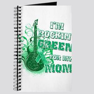 I'm Rockin Green for my Mom Journal