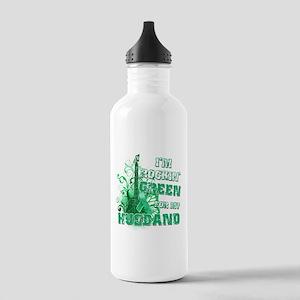 I'm Rockin Green for my Husba Stainless Water Bott