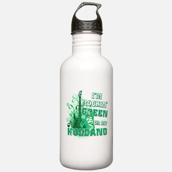 I'm Rockin Green for my Husba Water Bottle