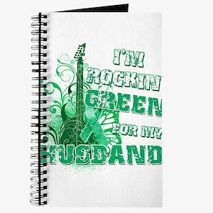 I'm Rockin Green for my Husba Journal