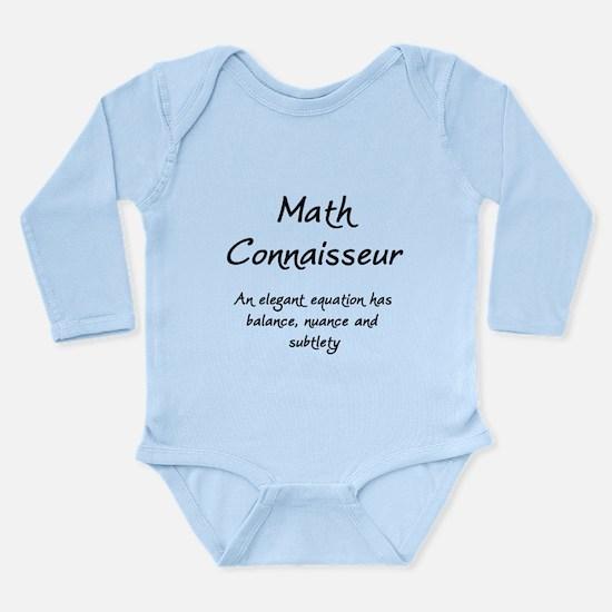Math Connaisseur Long Sleeve Infant Bodysuit